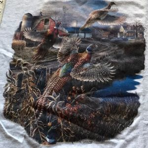 Shirt ring neck Pheasants